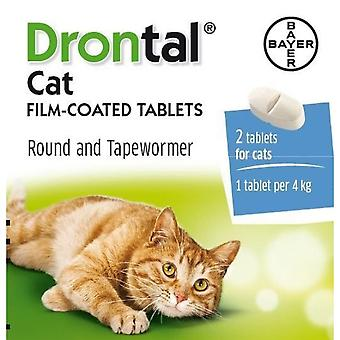 Drontal Cat Film-coated Tablets (2 tablets)