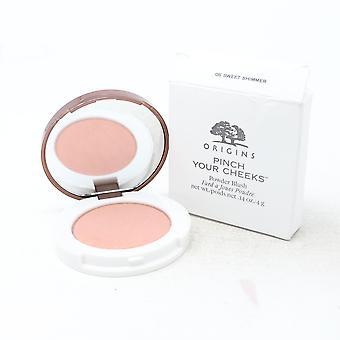 Origins Pinch Your Cheeks Powder Blush  0.14oz/4g New With Box