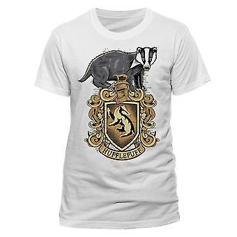 Harry Potter Unisex Adulte Hufflepuff T-Shirt