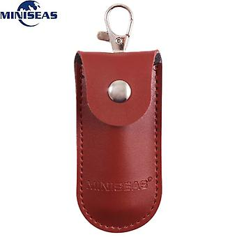 Bag Case Protective Leather Key Ring For Usb Flash Drive Pendrive Memory Stick