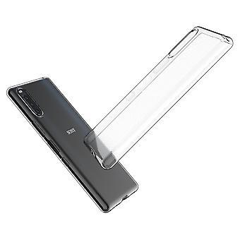 Coque Pour Sony Xperia L4, Housse De Protection En Silicone De Haute Qualité, Transparent