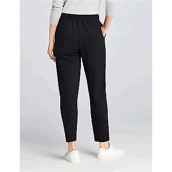 MERAKI Women's Paula Comfort Pants,  Black, EU M (US 8)