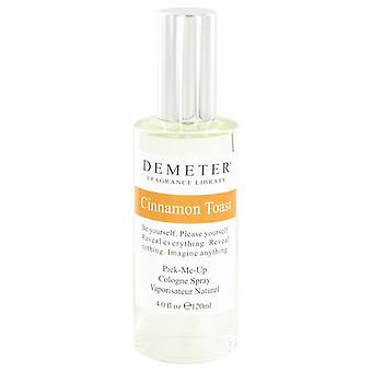 Demeter cinnamon toast cologne spray by demeter 426378 120 ml