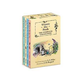 Winnie the Pooh Slipcase 66 Books by A A Milne