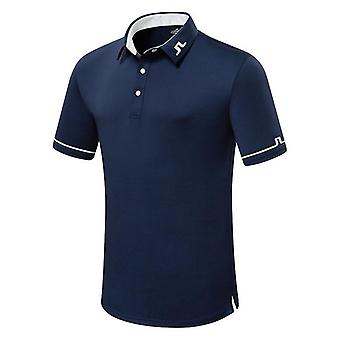 Summer Golf Men's T-shirt, Comfortable Breathable Clothes