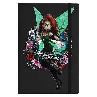 Hexxie Away With The Fairies Saffron A5 Notebook