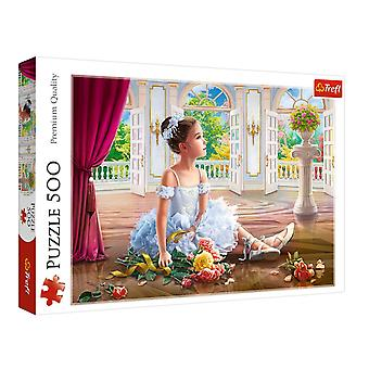 Trefl little ballerina 500 pieces puzzle premium quality