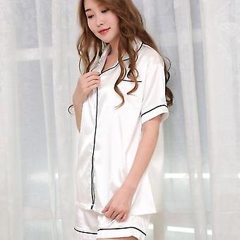 Sleepwear Pitkä/lyhyt hiha Suuri Koko Muoti Pyjama