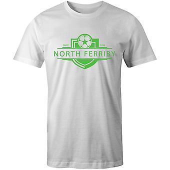 شمال فيريبي يونايتد 1934 أنشئت شارة كرة القدم تي شيرت