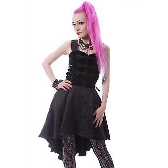 Poizen Industries Nyx Gothic Dress
