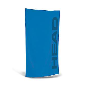 Hoofd Sport microvezel handdoek - lichtblauw