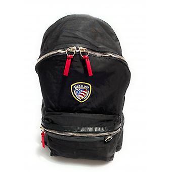 Bag Blauer Backpack Man Nevada Backpack Nylon Black Color Ub21bu05