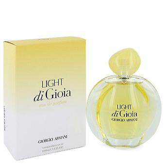 Light Di Gioia Eau De Parfum Spray By Giorgio Armani 3.4 oz Eau De Parfum Spray