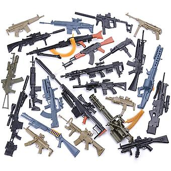 Action Figures Rifle Fn Scar Grenade Launcher + Wwii Mg42 Heavy Machine Gun