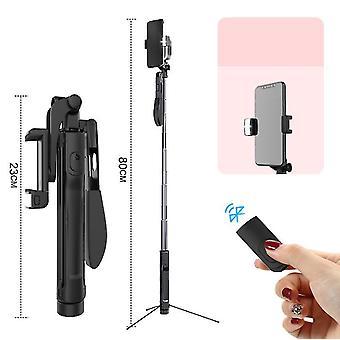 Ασύρματο bluetooth τρίποδο selfie ραβδί τηλεχειριστήριο ισορροπία βίντεο σταθερή λαβή selfie ραβδί