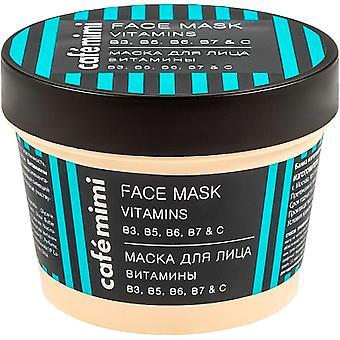 Cafe Mimi Mascarilla Facial Vitaminas b3 b5 b6 b7 y c 110  ml