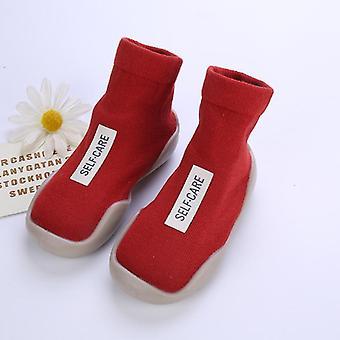 أحذية جورب الطفل، طفل حديث الولادة قصيرة الرضع النعال غير زلة، دافئ