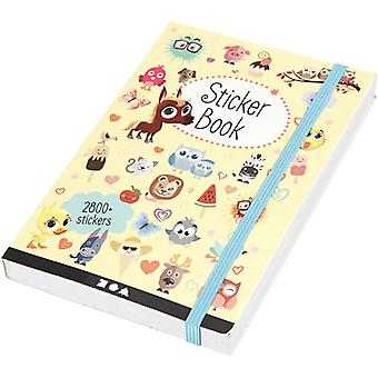 Creativ - Bumper Sticker Book - 80 Pages of Assorted Stickers