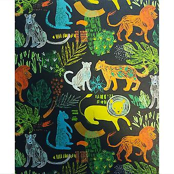 Hallmark I Used To Be A Coffee Cup Card - Big Cats