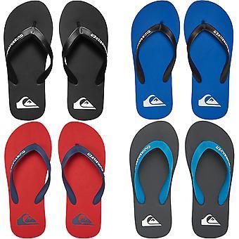 Quiksilver Boys Kids Molokai Summer Beach Thongs Sandals Flip Flops