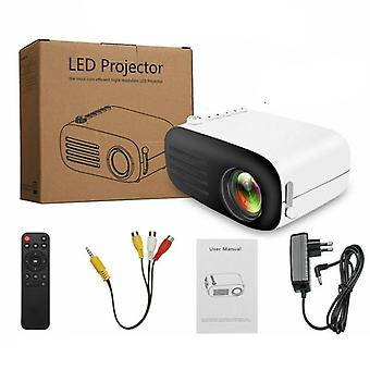 Full Hd Mini Led Projector, 3d Theater Cinema Portable Handheld Projectors