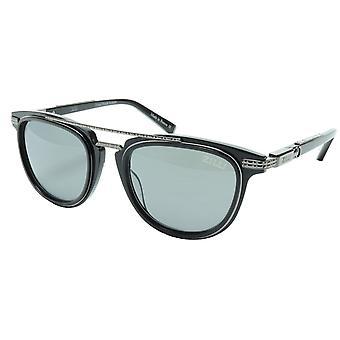 ZILLI Solglasögon Titanacetat Svart Gunmetal Polariserad Frankrike ZI 65019 C02