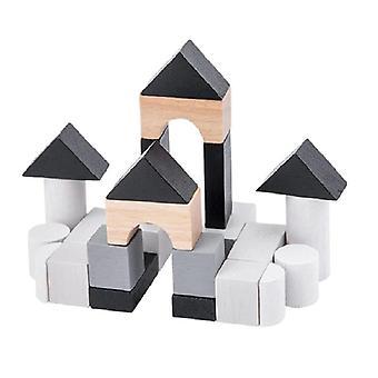 Przenośna gra dla trip Iron Box Drewniane edukacyjne zabawki wczesnej edukacji 3D zastanawiające| Bloki