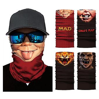 3Dデジタル印刷日焼け止めマスクサイクリング屋外スポーツスカーフ
