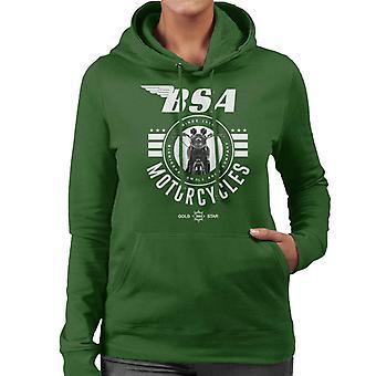 BSA Motorcycles Gold Star Women's Hooded Sweatshirt