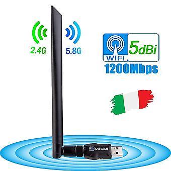 Uusi Wifi-sovitin, Älypuhelimelle / Pc / kannettavalle tietokoneelle / Tv / linux Boxille