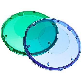 Pentair 619551 Blue and Green Plastic Lens Cover for AquaLuminator Pool Light