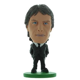 Fotbollsstjärnan Antonio Conte Chelsea Kostym Figur