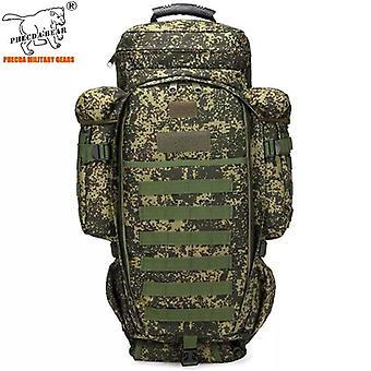 A-tacs fg التمويه في الهواء الطلق حقيبة ظهر الصيد 50l العسكرية حقيبة ظهر بندقية تكتيكية 110cm حقيبة ظهر الجيش متعددة الوظائف