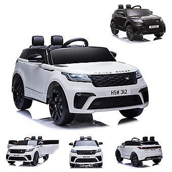 ES-Leker Barn Elektrisk Bil Utvalg Rover Velar, EVA Dekk, Støtdempere, Skinn sete