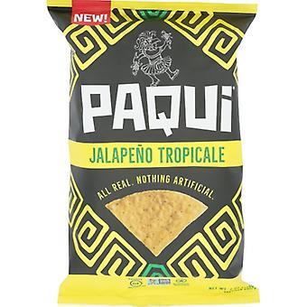 Paqui Chip Tortilla Jalpno Trop, Koffer van 5 X 7 Oz