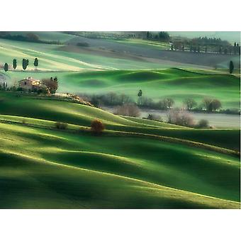 Clementoni Tuscany Hills High Quality Jigsaw Puzzle (500 Pieces)
