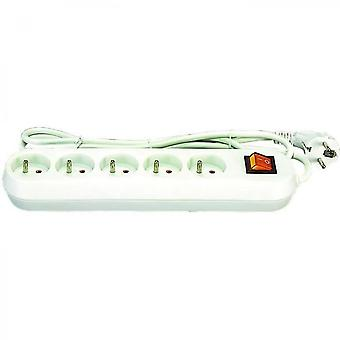 Power Strip 5 Outlets With Switch