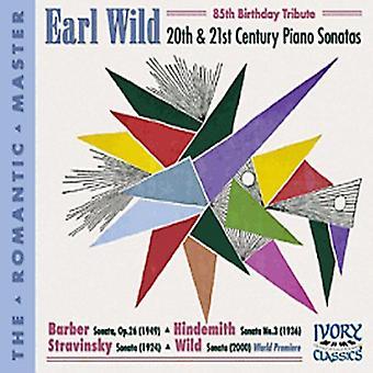 Earl Wild - 20. & 21. Jahrhundert Piano Sonaten [CD] USA import