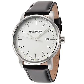 Wenger Men's Urban Classic Silver Dial Watch - 01.1741.109