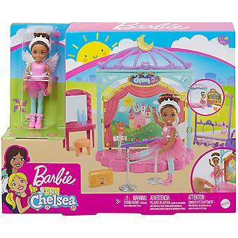 Barbie Club Chelsea dukke og lekesett