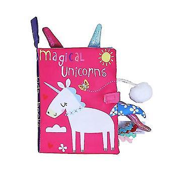 كتب الأطفال الطفل التعلم المبكر تمزيق ذيل القماش كتاب الوالد والطفل التفاعلية لغز ورقة الصوت