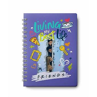 Friends 12Month Undated Planner by Insight Editions