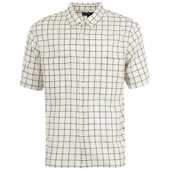 Edwin Scout Check Short Sleeve Shirt - Natural