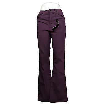 DG2 door Diane Gilman Dames Jeans Verfraaide Bootcut Purple 679846
