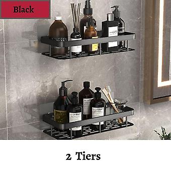 2PC Bathroom Shelves No Drill Corner Shelf Cosmetic Shelves Shower Storage Rack