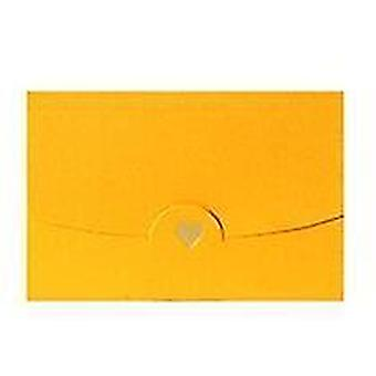Envelopes small greeting name card envelope hot stamping love pearlescent paper mini