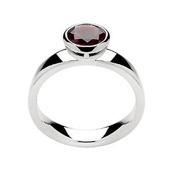 Bastian Inverun - Ring Sterling Silver - Granat - 21150.60