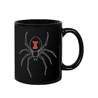 Black Spider Mug -SPIdeals Designs