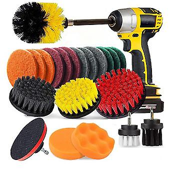 22 Sets Of Brushes Customized Electric Drill Brush Disc Brush Cleaning Dust Removal Polishing Polishing Electric Drill Brush Set