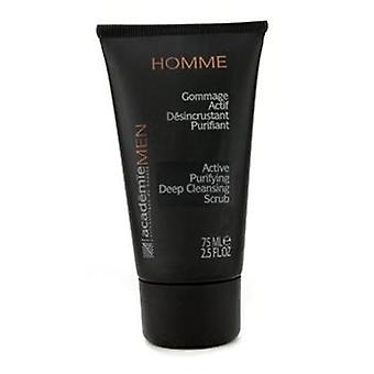 Academie Men Active Purifying Deep Cleansing Scrub - 75ml/2.5oz